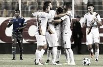 Coras y Cimarrones empataron a un gol