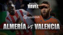 Almería - Valencia: el sueño se acaba o se hace realidad