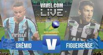 Resultado de Grêmio x Figueirense pelo Brasileirão 2015 (1-0)