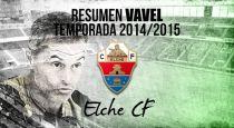 Resumen temporada 2014/15 del Elche: afianzados en Primera