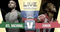 Atlético Nacional vs Junior en vivo hoy por Liga Águila 2017 (0-0)