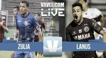 Resultado de Zulia vs Lanús en vivo por la Copa Conmebol Libertadores 2017 (1-1)