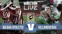 Bilbao Athletic vs Villanovense en directo online en playoffs Segunda B 2015 (0-0)
