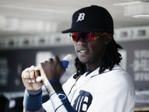 Detroit Tigers acquire RHP Victor Alcantara from Los Angeles Angels for OF Cameron Maybin