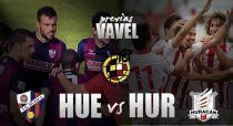 SD Huesca - Huracán Valencia CF: una plaza en Segunda, dos candidatos