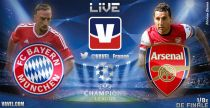 Live Ligue des Champions : le match FC Bayern Munich vs Arsenal FC en direct