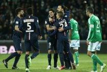 Escaso rendimiento goleador del PSG en Saint-Étienne