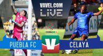 Resultado Puebla - Celaya en Copa MX 2015 (2-0)