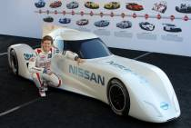 Ordoñez pilotera la Nissan ZEOD