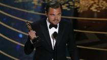 Leonardo DiCaprio gana su primer Oscar por su papel en 'El renacido'