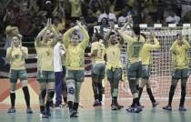 Brasil vence Montenegro e confirma classificação em primeiro lugar no handebol feminino