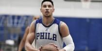 Alarma en los Sixers: Ben Simmons se lesiona