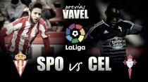 Previa Sporting - Celta: tres puntos para dos objetivos distintos