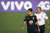 Tite confirma Roberto Firmino na vaga de Gabriel Jesus contra Uruguai