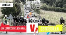 Resultado de la 20 etapa de la Vuelta a España 2015 : Rubén Plaza vencedor, Aru ganador final.