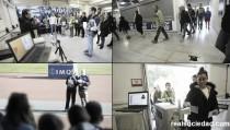 Simulacro de evacuación en Anoeta