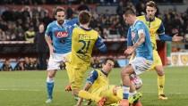 Risultato partita Napoli - Chievo in diretta, LIVE Serie A 2016/17 -Raddoppia Hamsik!(2-0)