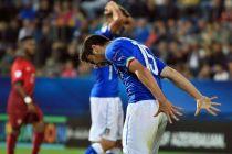 Italia se gusta en el juego y se desespera en el gol