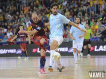 La remontada del FC Barcelona Lassa evita la sorpresa de Santiago Futsal