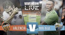 Resultado Valencia CF vs Málaga CF (3-0)