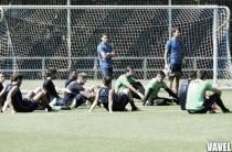 Dos sesiones más para preparar el partido ante Las Palmas