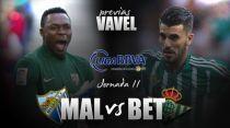 Previa Málaga CF - Real Betis: vencer o sufrir