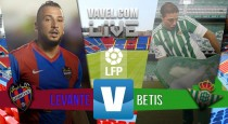 Levante vs Real Betis en vivo y en directo online (0-1)