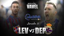 Levante UD - Deportivo de la Coruña: urge la victoria local