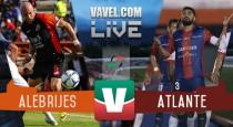 Resultado Alebrijes Oaxaca vs Atlante en Ascenso MX 2015 (1-4)