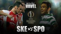 Skënderbeu - Sporting CP: a subir puestos en el grupo