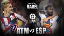 Atlético de Madrid - Espanyol: los pericos ponen a prueba el gran momento rojiblanco
