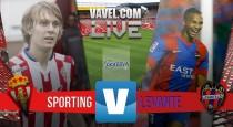 Sporting Gijón - Levante UD resultado (0-3): El Levante recupera la actitud