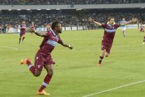 La Lazio sufre y toca el cielo de la Champions en San Paolo