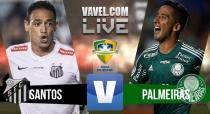 Resultado jogo Santos x Palmeiras na Copa do Brasil (1-0)