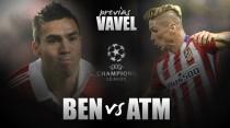 Benfica - Atlético de Madrid: a 90 minutos del liderato