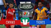 Resultado Chivas 2-2 Tigres en Liga Mx 2016:El 'Rebaño Sagrado' empata en casa ante el campeón Tigres