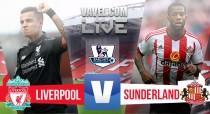 Resultado Liverpool 2-2 Sunderland en Premier League 2016: El Liverpool se duerme y lo paga