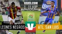 Resultado Leones Negros - San Luis en Ascenso MX 2016 (2-1)