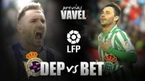 Deportivo - Real Betis: en busca de la regularidad