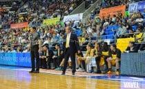 """Txus Vidorreta: """"Ganamos el partido mejorando la defensa y jugando duro"""""""