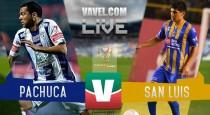 Resultado Pachuca - Atlético San Luis en Copa MX 2016 (1-2)