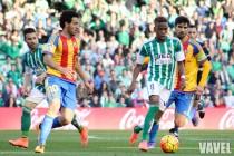 Real Betis - Valencia CF: puntuaciones Real Betis, jornada 23