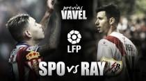 Sporting de Gijón - Rayo Vallecano: la hora de la verdad