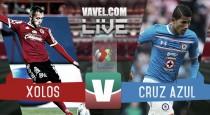 Resultado Xolos Tijuana vs Cruz Azul en Liga MX 2016 (1-1)