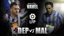 Previa Deportivo-Málaga CF: Duelo directo por Europa
