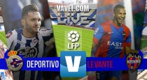 El Deportivo pone fin a su mala racha a costa del Levante