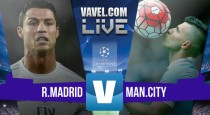 Real Madrid vs Manchester City en vivo online en Liga de Campeones 2016