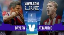 Resultado Bayern de Múnich vs Atlético de Madrid en vivo minuto a minuto (0-0)