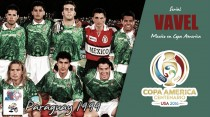 Serial México en Copa América; Paraguay 1999: Se mantienen en lo alto