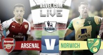 Arsenal vs Norwich en vivo minuto a minuto en partido Premier League 2016